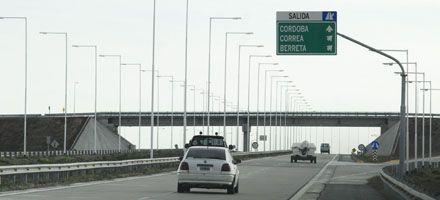 Reclaman obras y servicios en los tramos santafesinos de la autopista a Córdoba