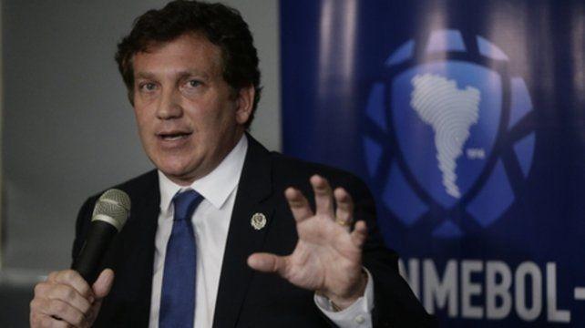 Optimista. El dirigente paraguayo dijo que el torneo se reanudaría el 6 de mayo.