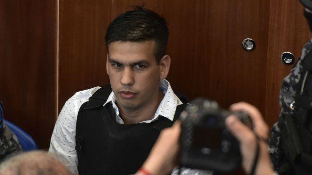 Monchi Cantero. Ramón Machuca en la sala de audiencias donde lo juzgan por asociación ilícita.