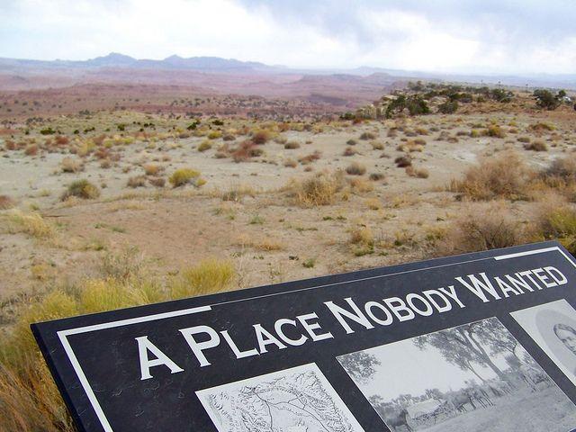 El desierto del Moab