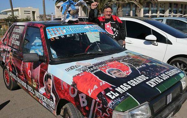 Osvaldo llevó el Tata móvil desde Luján hasta La Serena.