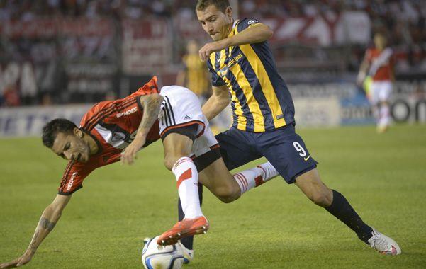 Marco Ruben fue una pieza clave en el partido pasado ante River.