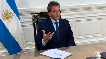 El presidente de la Cámara de Diputados de la Nación, Sergio Massa.