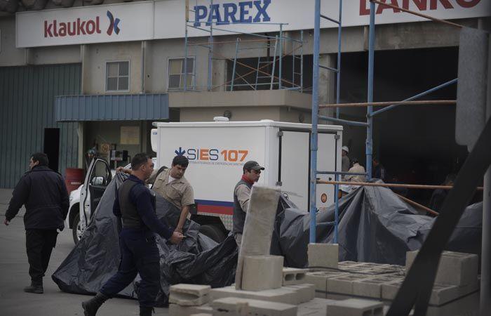 El accidente que terminó con la vida del trabajador ocurrió en la parte interna del corralón. (Foto: H. Río)