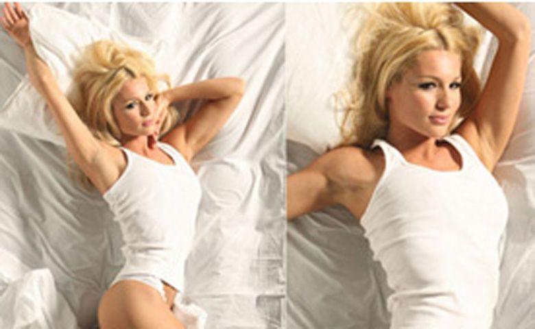 La modelo Pampita Ardohain también cambió de look: ahora se tiño de rubia