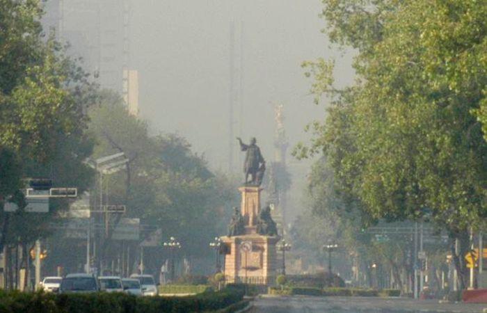 Ciudad de México enfrenta un incremento extraordinario de contaminación ambiental