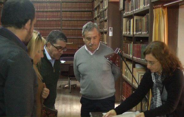 En el museo histórico del Convento San Carlos hay libros incunables y documentos de gran valor.