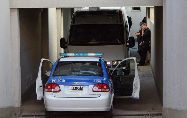 Larga jornada. Ayer en los tribunales de la ciudad de San Lorenzo se percibió un constante movimiento.