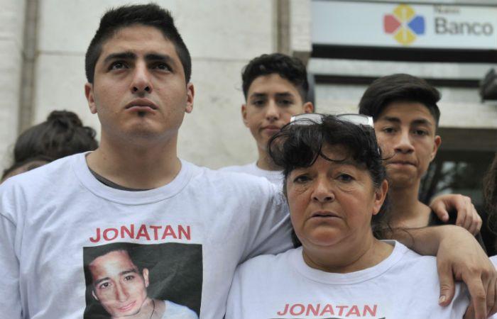 Reclamo. La madre de Jonatan Herrera y un solo pedido: el de justicia.