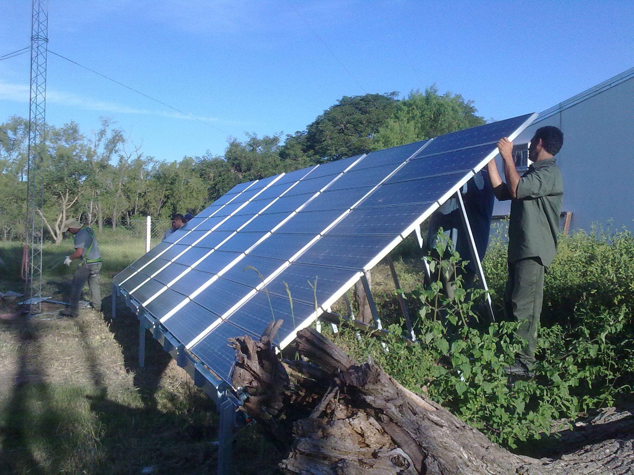 El parque fotovoltaico permitirá abastecer
