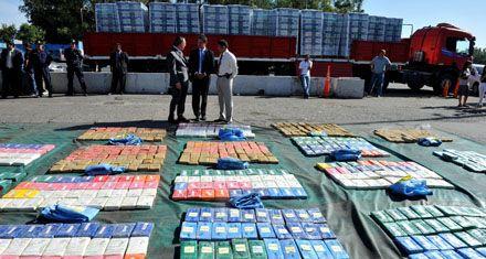 Secuestran una tonelada de cocaína que era transportada a Buenos Aires