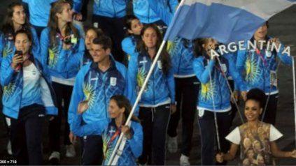 Luciana Aymar fue la abanderada argentina en los Juegos Olímpicos de Londres 2012.