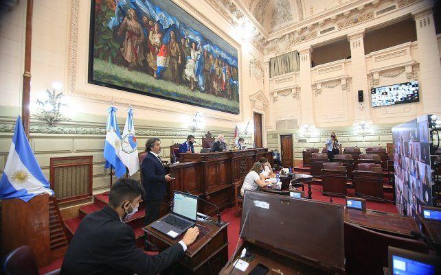La Cámara baja provincial podría sesionar el miércoles próximo.