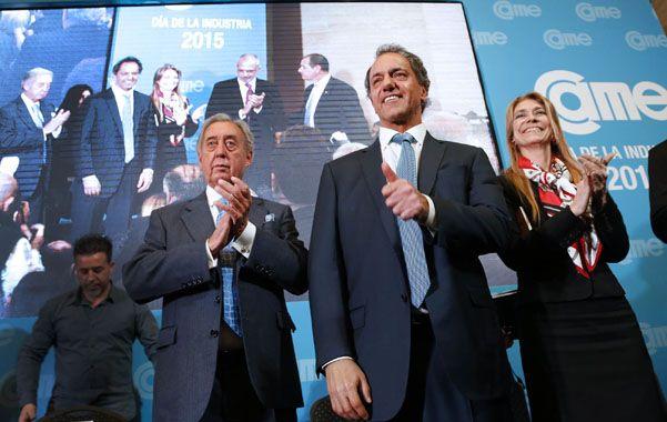 """Came. Daniel Scioli prometió ser """"el presidente pyme"""" de la Argentina."""
