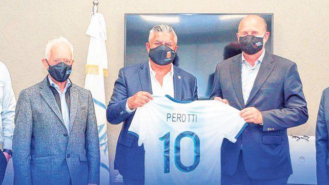 Tras una reunión entre Tapia y Perotti, la Copa Santa Fe se relanza en 2021