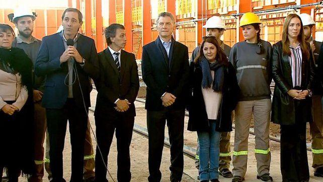 Macri inauguró obras ferroviarias y dijo que en el tema trenes se pasó de la corrupción a la transparencia