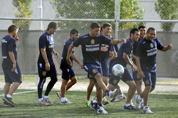 El equipo realizó un trabajo recreativo ayer a la tarde en Bahía Blanca. (Foto: G. de los Ríos)