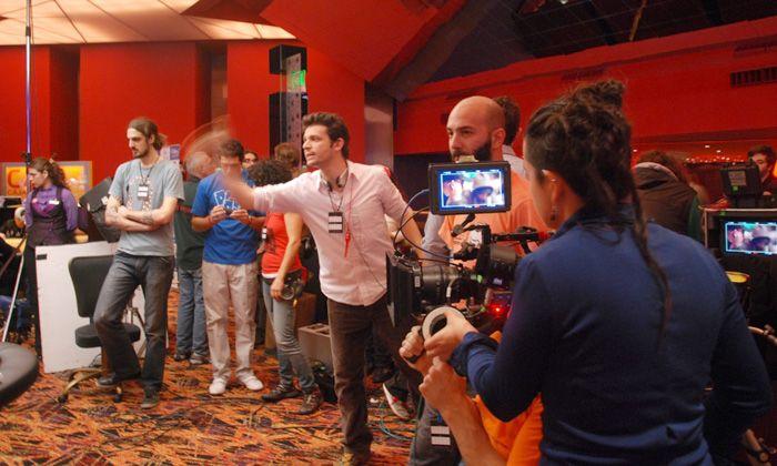 El casino de Rosario se convirtió en un inesperado set de filmación el fin de semana