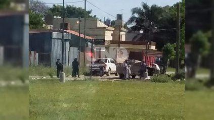 Intentaron usurpar y construir en terrenos baldíos fiscales de Bº Guadalupe pero los vecinos lo impidieron.