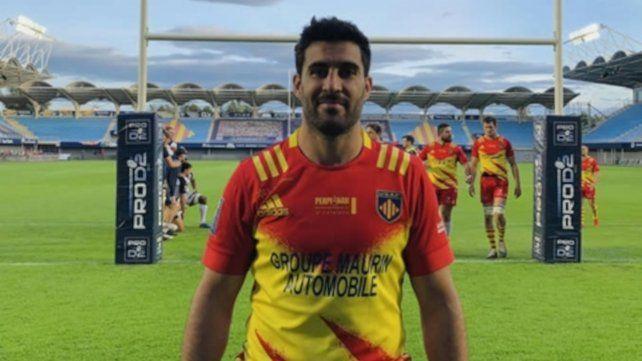 De la Fuente se prepara con Perpignan para pelear el ascenso ante Biarritz.