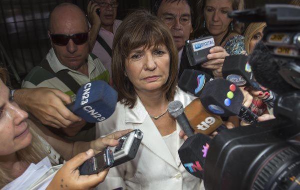 Fuerte declaración de Bullrich a una semana de la muerte de Nisman.