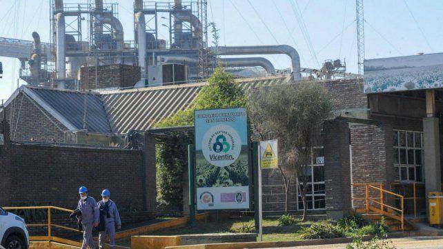 La planta ubicada en San Lorenzo.