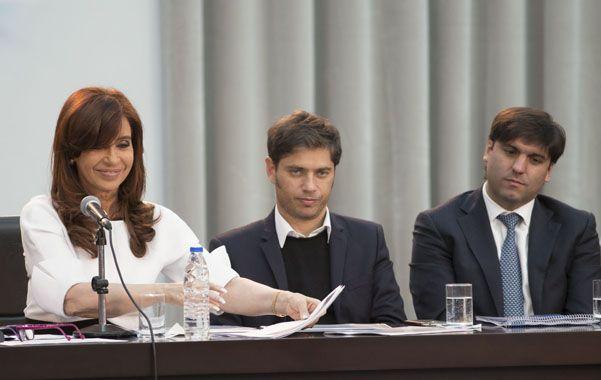 Política de ingresos. La presidenta anunció nuevos beneficios para tenedores de la tarjeta de la Ansés.