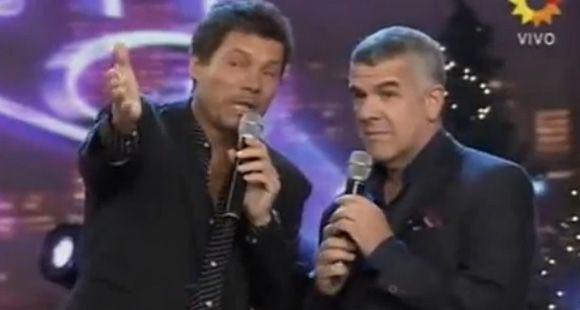 Tinelli y Dady Brieva en desopilante pase de facturas en vivo