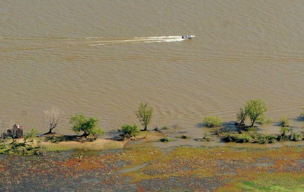 El accidente naútico se produjo frente a la costa sur de Rosario.