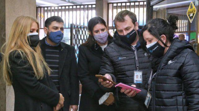 González del Pino y Carignano brindaron detalles de los operativos de control conjuntos que está realizando la Provincia con la Nación.