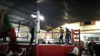 Las instalaciones del Olímpico, considerado una Meca del box en la ciudad.