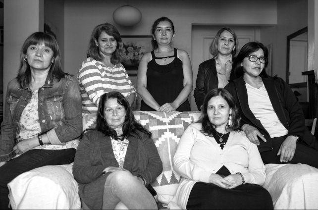 Siete de las 43 ex numerarias auxiliares del Opus que le dieron su testimonio a la periodista Paula Bistagnino.