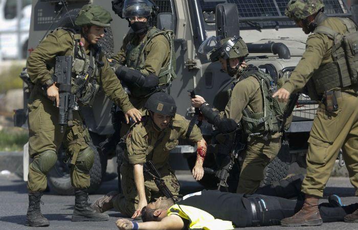 Abatido. Un palestino se hizo pasar por periodista e hirió a dos soldados en Hebrón antes de ser muerto.