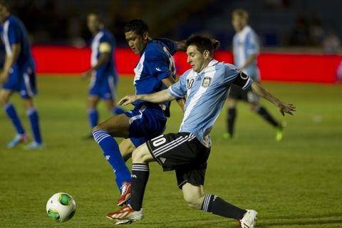 Messi alcanzó a Crespo como segundo máximo goleador histórico del seleccionado con 35 tantos
