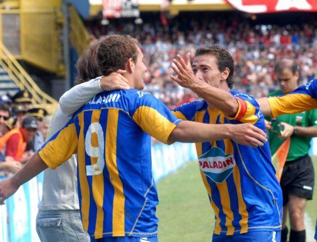 El Central de 2006, con Ruben y el Kily como compañeros.