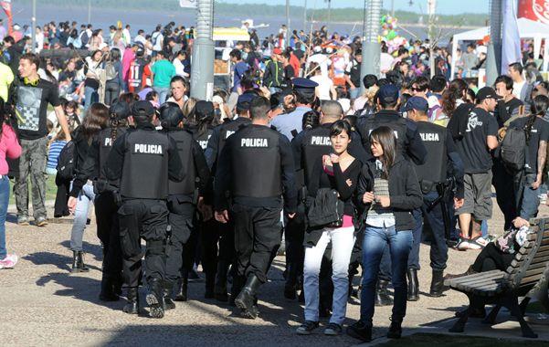 Bajo control. Las autoridades quieren evitar enfrentamientos entre bandas e incidentes.