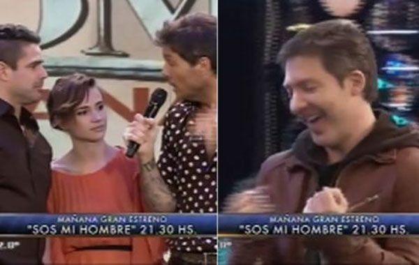 Adrián Suar cantó en vivo la cortina de Sos mi hombre