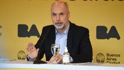 Le jefe de Gobierno porteño le respondió a la ministra de Seguridad nacional, Sabina Frederic.