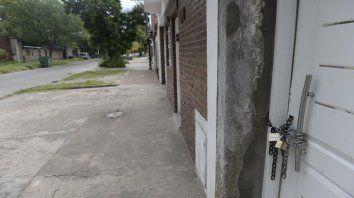 Ayer a la tarde la familia atacada había abandonado su casa.