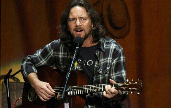 Líder. Eddie Vedder en acción.