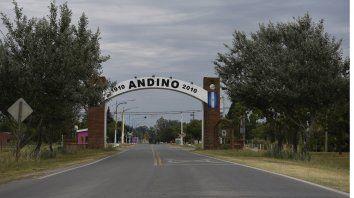 La comunidad de Andino, conmovida por el crimen.