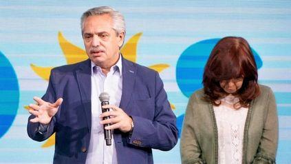 Alberto y Cristina, una imagen que define la realidad que atraviesa el Frente de Todos tras la derrota electoral en las Paso.