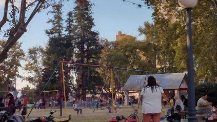 La Plaza de los Juegos fue escenario este fin de semana de un gran movimiento de gente, al igual que otros espacios públicos casildenses.