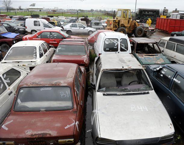 En lo que va de 2014 ya fueron a parar al depósito municipal 540 vehículos. (Foto: S. Suárez Meccia)