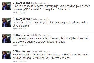 Cristina Fernández de Kirchner será abuela