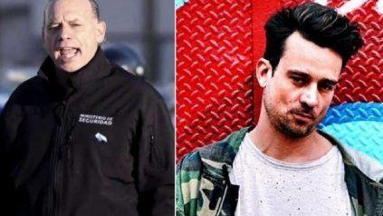 """Berni. """"Cuando (los policías) intentan reducirlo (a Chano), los ataca con un cuchillo. La policía hizo lo tenía que hacer"""", sostuvo el ministro."""