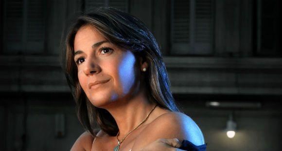La soprano mendocina Verónica Cangemi, en la gala de La Capital