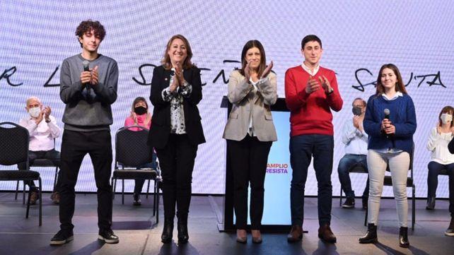 Clara García y Mónica Fein ganaron la interna del Frente Progresista.