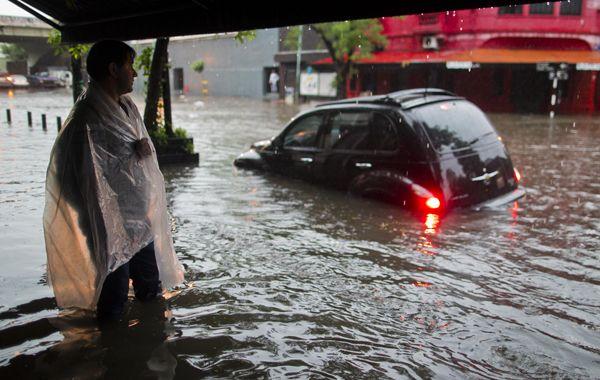 De la nube tóxica a varias zonas inundadas en Capital Federal