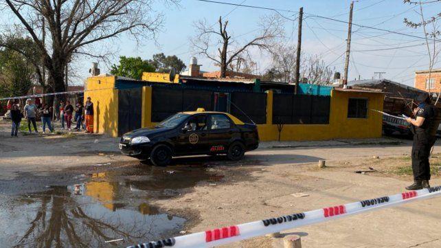 El taxista fue atacado en Cavia y Larrechea